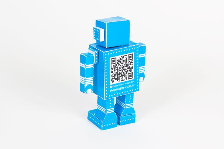 Tándem | Chapa | Paper toy robot