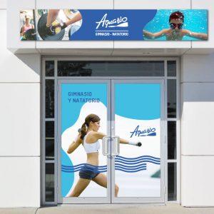 Aquario | Señalética + Sitio web
