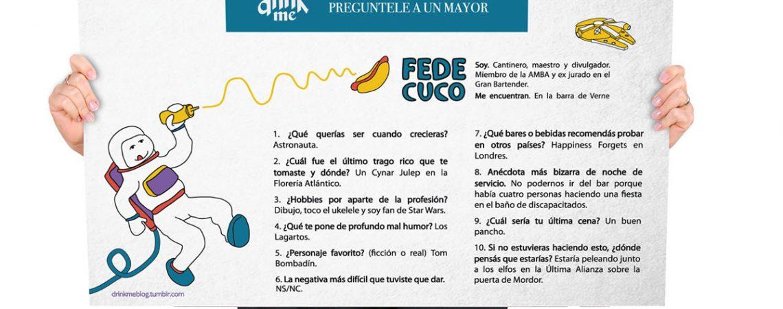 Entrevista a Fede Cuco